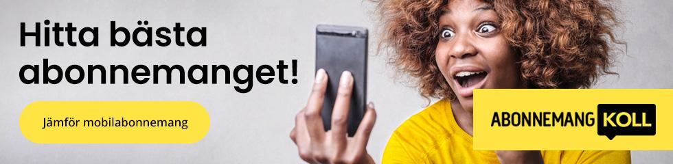 Hitta bästa mobilabonnemang